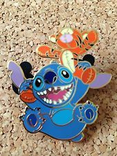 probably one of the coolest pins i have ever seen RARE Disney Auctions Stitch & Tigger Doll Le 250 Pin Rare Disney Pins, Disney Pins Sets, Disney Trading Pins, Lilo And Stitch 3, Disney Stitch Pins, Disney Trips, Disney Love, Disney Magic, Disney Pin Collections