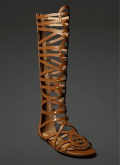 abc8d5f06d2b Knee-High Gladiator Sandals