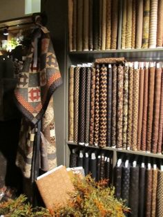 Civil war fabrics at Country Sampler...this is where I NEED to go...SOON!