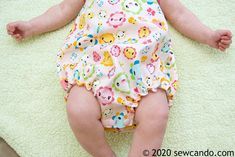 Sew Can Do: Easy Any Size Baby Bubble Romper My Baby Girl, Cloth Diapers, Fourth Of July, To My Daughter, Romper, Bubbles, Sewing, Easy, Overalls
