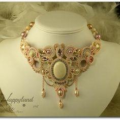 Soutache Tutorial, Necklace Tutorial, Earring Tutorial, Shibori, Bead Embroidery Jewelry, Beaded Jewelry, Handmade Jewelry, Tatting Bracelet, Soutache Necklace