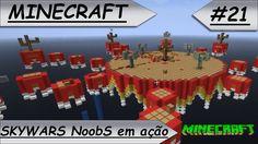 MINECRAFT Skywars NoobS em ação!! #21