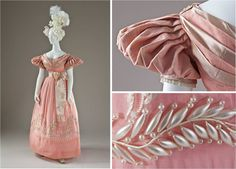 Dress, 1830s. Another one of my favorite pieces!