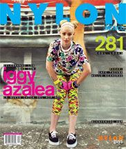 PAVON NYC on the cover of NYLON MAG