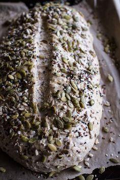 Seeded Whole Grain Breakfast Bread | halfbakedharvest.com @hbharvest
