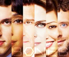 Sweets, Cam, Booth, Bones, Angela, and Hodgins!