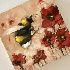 Cow Painting, Painting & Drawing, Butterfly Acrylic Painting, Abstract Flowers, Animal Paintings, Acrylic Paintings, Oil Paintings, Bee Friendly, Dragonfly Art