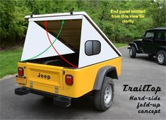 This is cool but I'm waiting for the chuck wagon. Enclosed Trailer Camper, Trailer Tent, Camper Trailers, Campers, Expedition Trailer, Overland Trailer, Work Trailer, Utility Trailer, Pop Top Camper