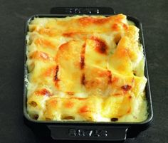 Macaroni Gratin by Paul Bocuse in a Staub Rectangular Dish