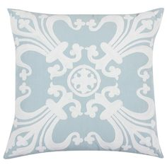 Vesta Blue Throw Pillow from @LaylaGrayce #laylagrayce #new #pillows