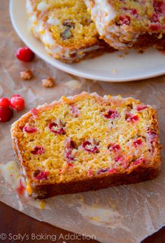 Cranberry pound cake and bread on Pinterest | Pound Cake Recipes, Sour ...