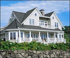 new england cottage style homes - Google Search
