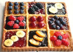 Crostata di frutta e marmellata mista