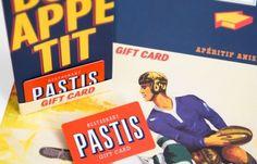 Pastis Restaurant Branding