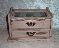 Shabby Chic Jewelry Box by DruryTreasures on Etsy