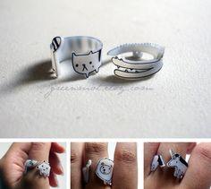 shrinky dink rings!