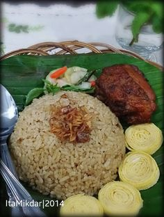 Rice Recipes, Pork Recipes, Asian Recipes, Cooking Recipes, Mie Goreng, Nasi Goreng, Nasi Liwet, Indonesian Food, Indonesian Recipes
