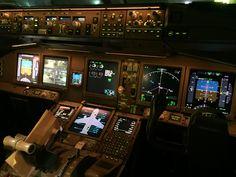 #777 cockpit