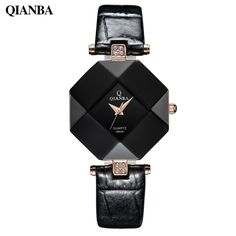 Perfect #mensgifts Wooden Design #Watches Big Sale http://timecreatives.com/qianba-2016-luxury-womens-watch-leather-strap-waterproof/ Trendy Fashion Design Watches - TimeCreatives    #woodwatches #fashion