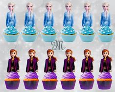 Frozen Themed Birthday Cake, Frozen Themed Birthday Party, Disney Frozen Birthday, 2 Birthday Cake, Carnival Birthday Parties, Frozen Party, Turtle Birthday, Turtle Party, Disney Frozen Cupcakes
