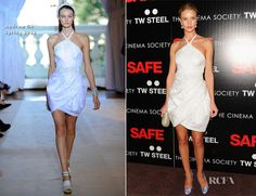 Rosie Huntington-Whiteley In Andrew Gn – 'Safe' New York Premiere   Red Carpet Fashion Awards