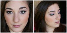 Purple & Blue Duochrome Eyes and Glowing Skin. Makeup Geek Blacklight