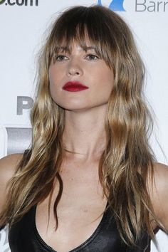 Behati Prinsloo Makes a Bang with New Brow-Grazing Fringe