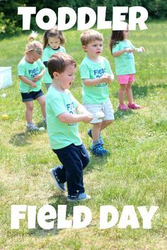 toddler field day {outdoor activity day for pre-preschoolers} Egg spoon race, 3 legged race, sack race, obstacle courseToddler Field Day Might Be The Cutest Thing Ever - Ice Cream Off Paper PlatesPhysical Health & Growth: Engaging in active physical play Sports Day Games For Adults, Sports Day Activities, Team Building Activities For Adults, Field Day Activities, Field Day Games, Team Building Games, Summer Activities, Summer Games, Family Activities