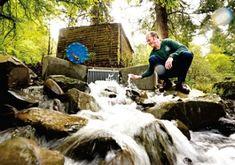 """スコットランドでマイクロ水力発電による""""オフグリッド植物園""""が実現! #greenz #offgrid #botanicalgarden"""