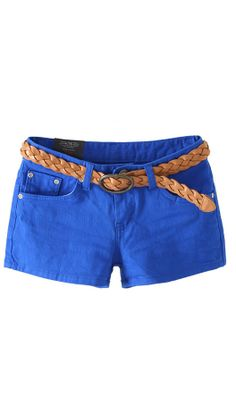 candy color shorts cs102 Sapphire