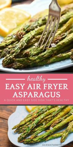 Asparagus Side Dish, Ways To Cook Asparagus, Easy Asparagus Recipes, Fresh Asparagus, Oven Cooked Asparagus, Bacon Wrapped Asparagus, Air Fryer Recipes Videos, Air Fryer Oven Recipes, Air Frier Recipes