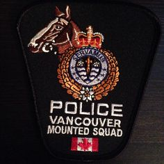 Vancouver Police Mounted Unit