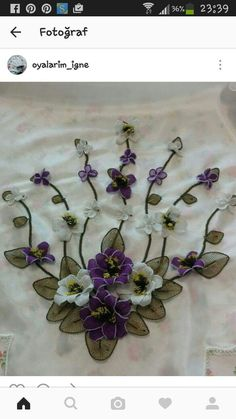 String Art, Embellishments, Quilts, Embroidery, Embroidery Ideas, Ideas, Bathroom Sets, Fabric Flowers, Crowns