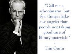 Librarians Love Tim Gunn