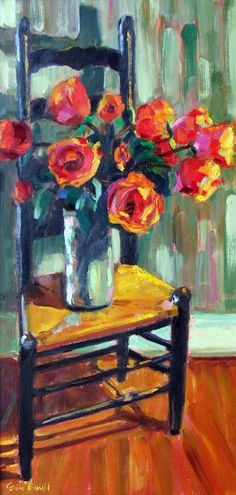 Roses in My Chair