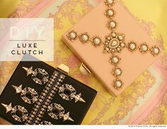 Something else to do with my cigar boxes. Diy Clutch, Diy Purse, Clutch Bag, Handmade Crafts, Diy Crafts, Diy Tumblr, Diy Handbag, Diy Accessories, Diy Projects To Try