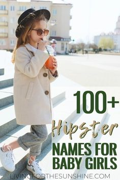 Find a hip baby name that is cutting edge and on trend. Hipster baby names are the coolest.