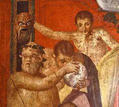 pintura de pompeia