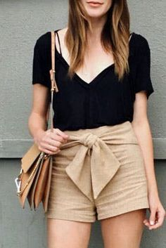 3b328f7db61 How to Wear Shorts Like the Grown Woman You Are