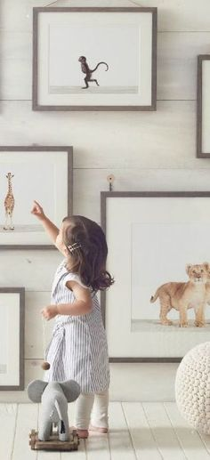 grey ribba frames | Ikea Innocent Beginnings Artwork