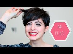 Mi corte de pelo PIXIE - YouTube
