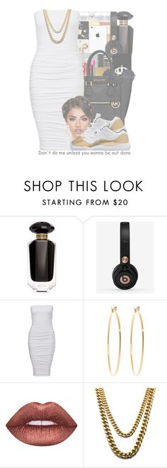 """""""fancy"""" by ballislife ❤ liked on Polyvore featuring Victoria's Secret, Beats by Dr. Dre, Brooks Brothers and Lime Crime"""