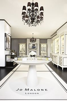 Indulge in luxury cosmetics at Jo Malone in Covent Garden London.