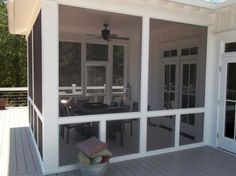 Wonderful Screened In Porch And Deck Idea 113
