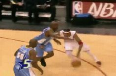**GIF** Allen Iverson with the handles and sick crossover