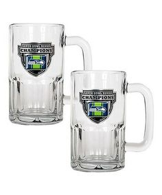 Loving this Seattle Seahawks 'Champions' 20-Oz. Mug - Set of Two on #zulily! #zulilyfinds