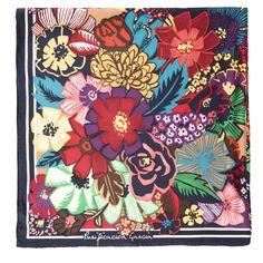 Pañuelo Blossom 90 cm x 90 cm | Fulares y pañuelos | Mujer | Accesorios | Purificación García