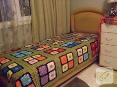 tığ işi yatak örtüsü | Örgü Delisiyim