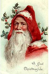 sweet santa by seaside rose garden, via Flickr