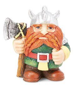 Medieval Times Red Beard Viking Figurine